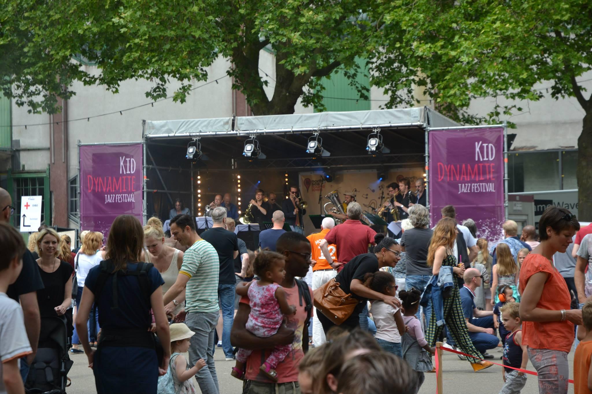 Kid Dynamite Jazz Festival - sfeer - Rotterdam North Sea Round Town