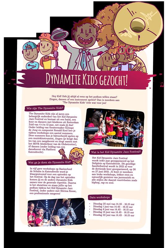 The Dynamite Kids – Flyer